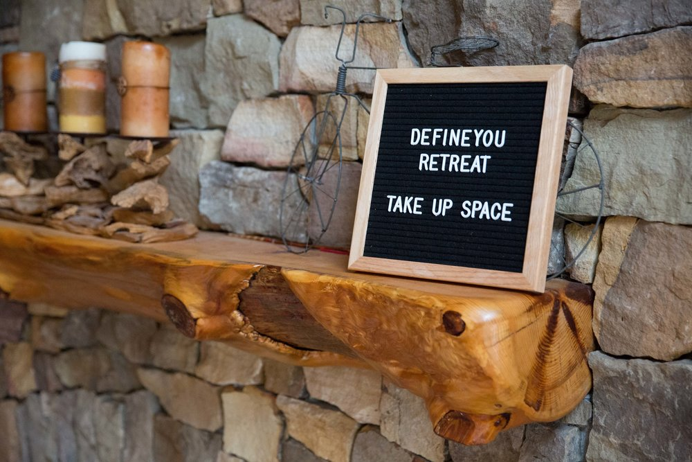 DefineYOU Retreat, Take Up Space, Define Fettle, DefineYOU Retreat 2018, Minnesota Retreat, Women's Retreat, Health Retreat, Fitness Retreat, Wellness Retreat