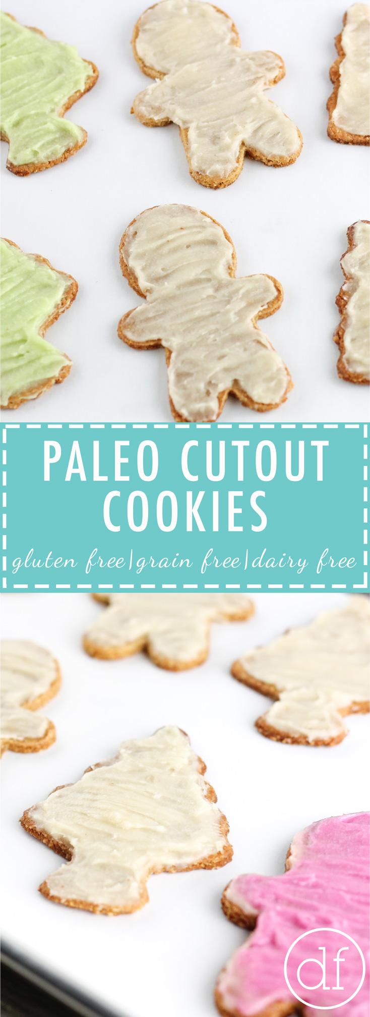 Paleo Cutout Cookies, Paleo Cookies, Paleo Christmas Cookies, Grain Free Cookies, Gluten Free Cookies, Dairy Free Cookies, Sugar Cookies
