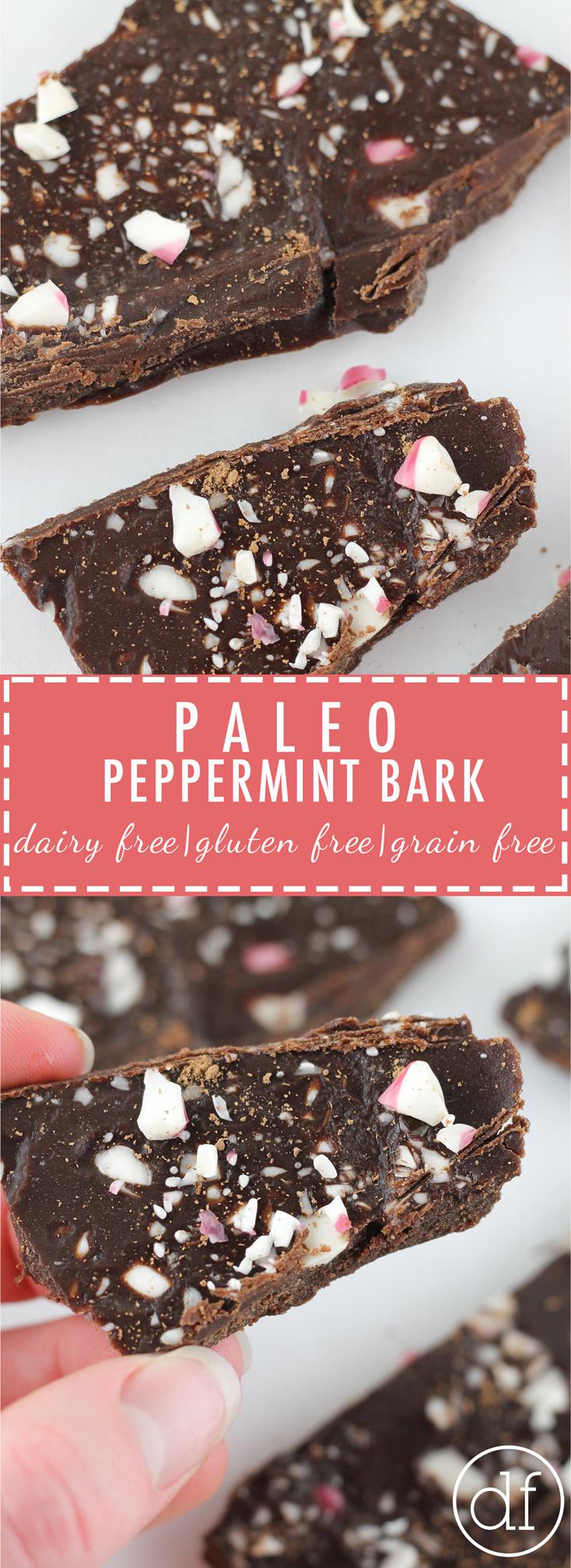 Paleo Peppermint Bark, Paleo, Grain Free, Gluten Free, Dairy Free, Paleo Christmas, Define Fettle