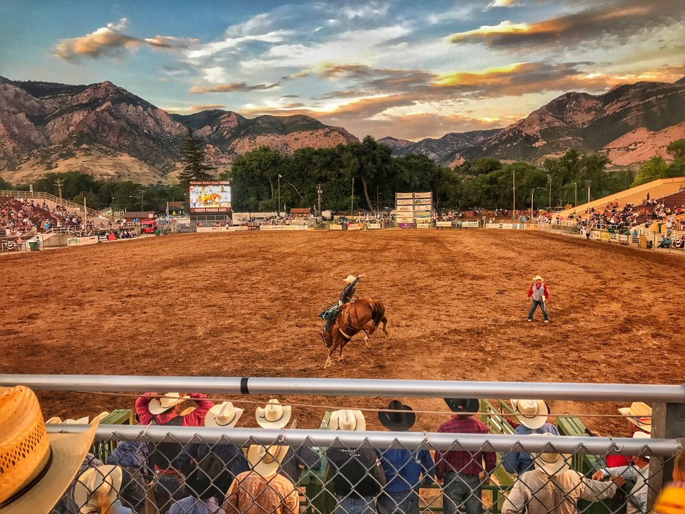 Ogden Pioneer Days - Wadman Rodeo