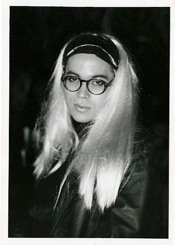 Chee in drag in 1989. Photographed by Danny Nicoletta.