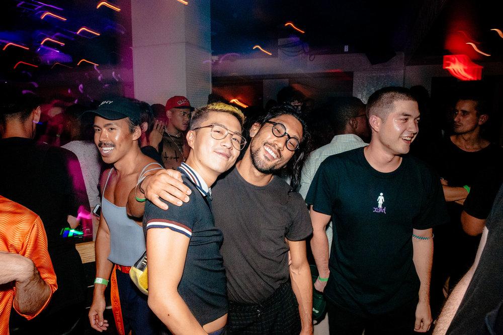 Huynh with  @mitchellkuga  and  @koojjjiiii .