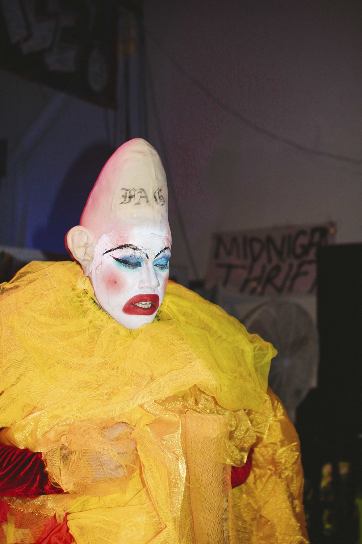 Miami-based performance artist, KUNST.