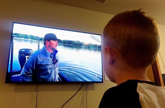My 4 year old son loves watching @scottmartinchallenge!!! Who am I kidding? I love it too! #bass #fishing #largemouthbass #smallmouthbass #bassfishing