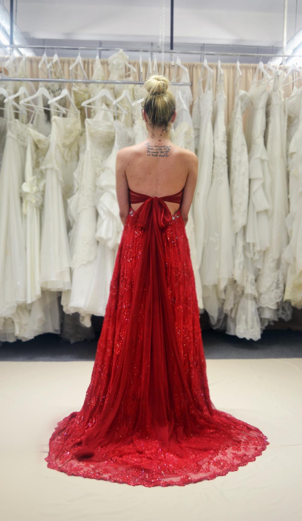 Custom made formal dresses