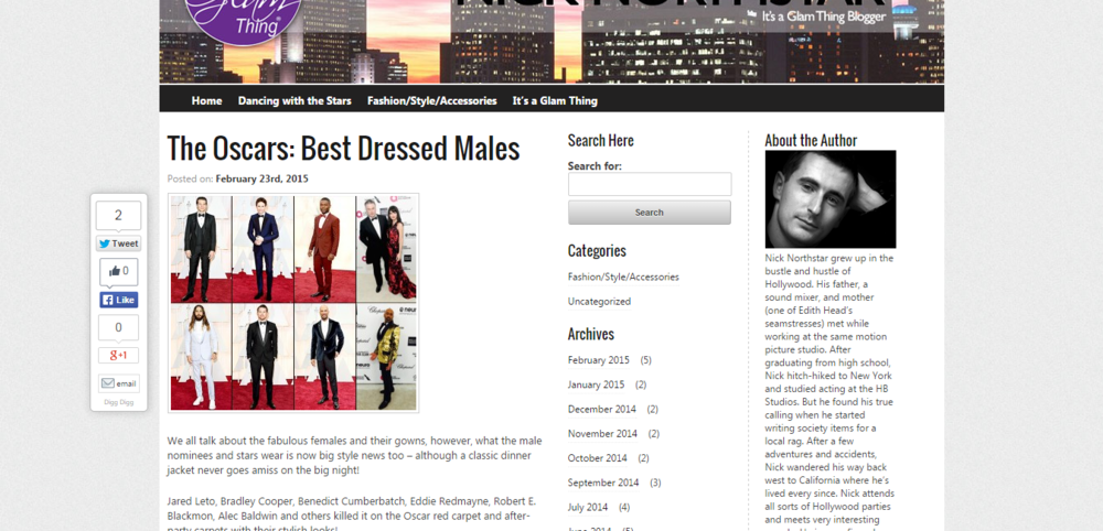 The Oscars  Best Dressed Males   Nick Northstar s Blog.png