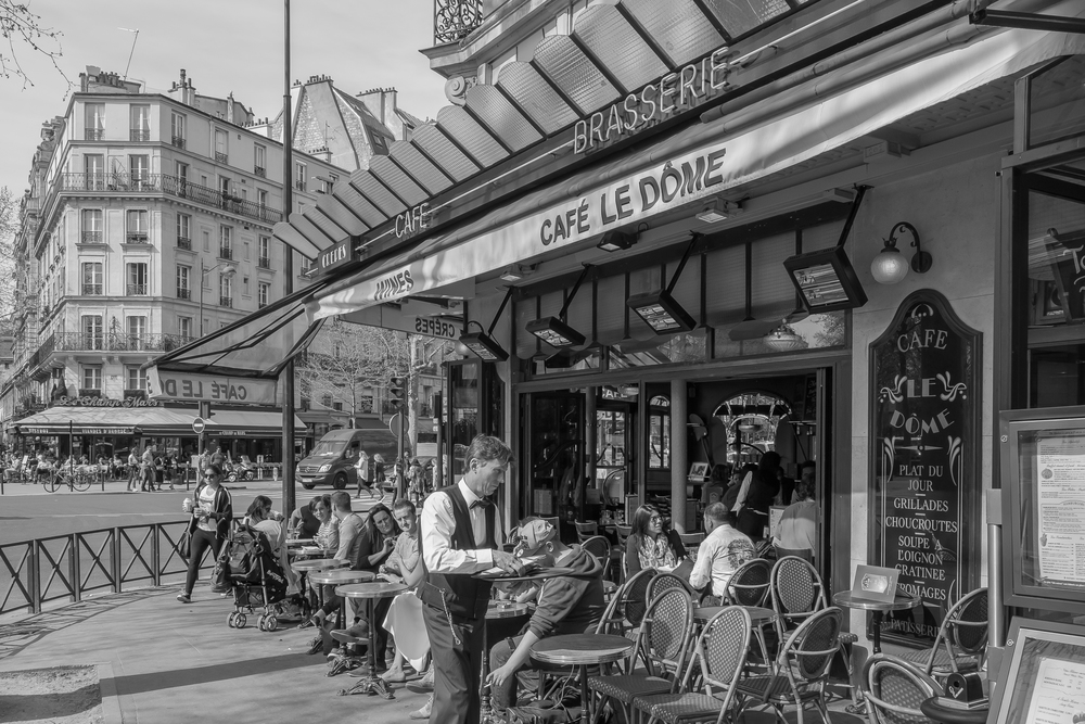 Afternoon, Café le Dôme