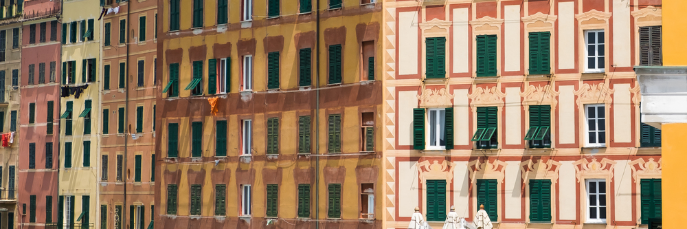 Walls and windows, Camogli