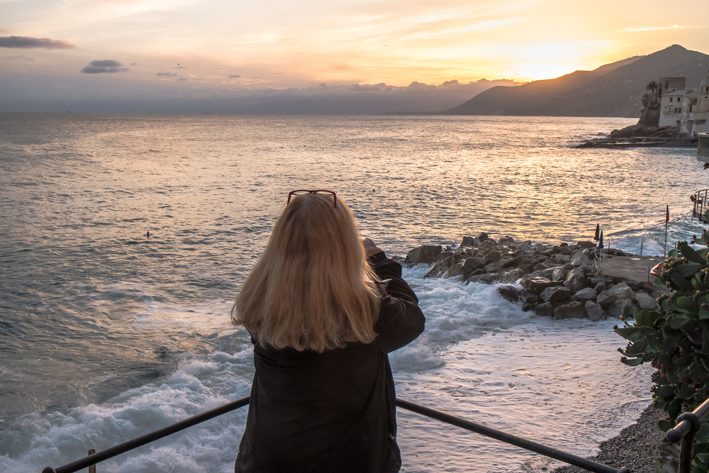 Overlooking the Gulf of Paradise, Camogli
