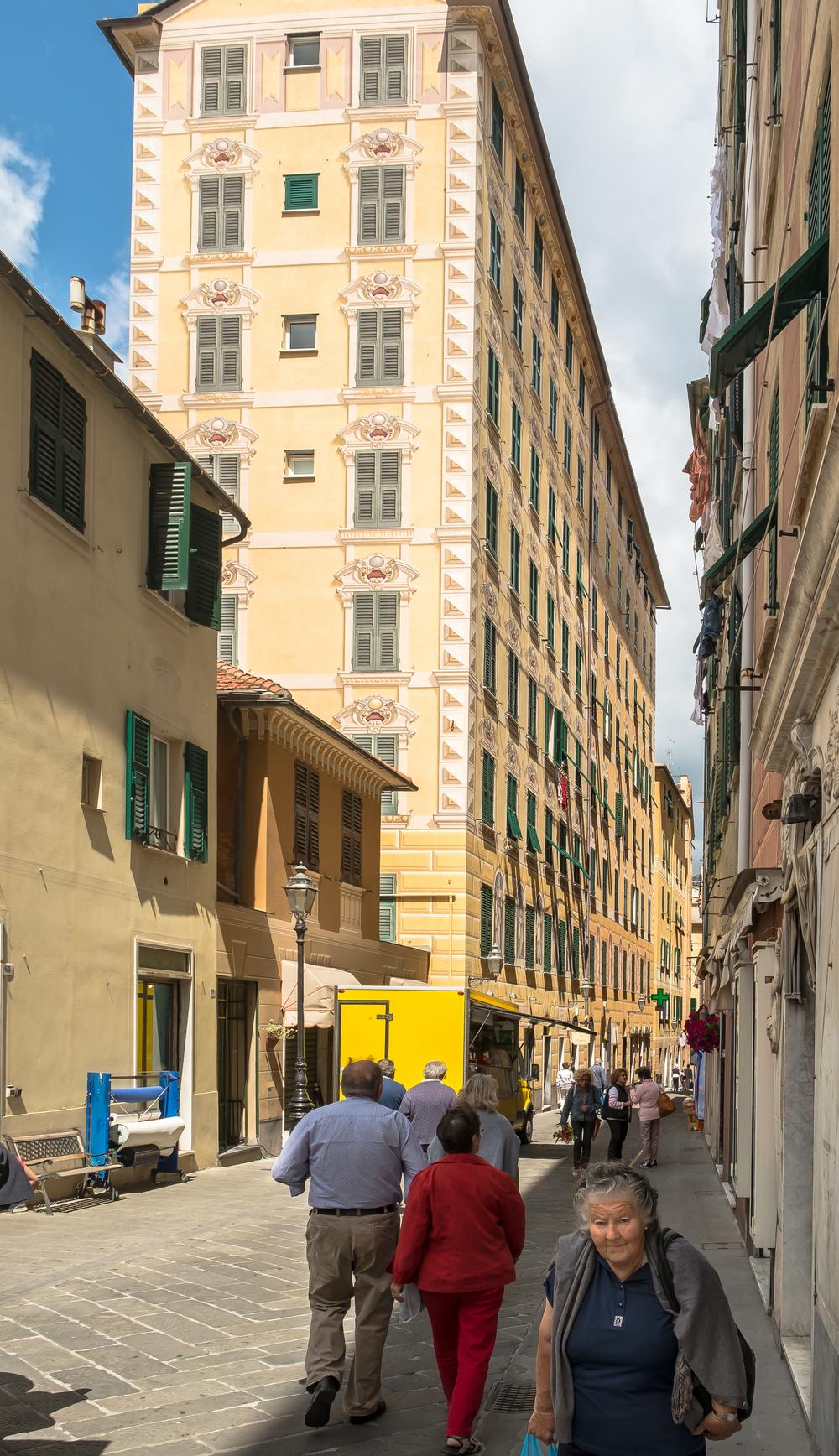 Street scene, Camogli