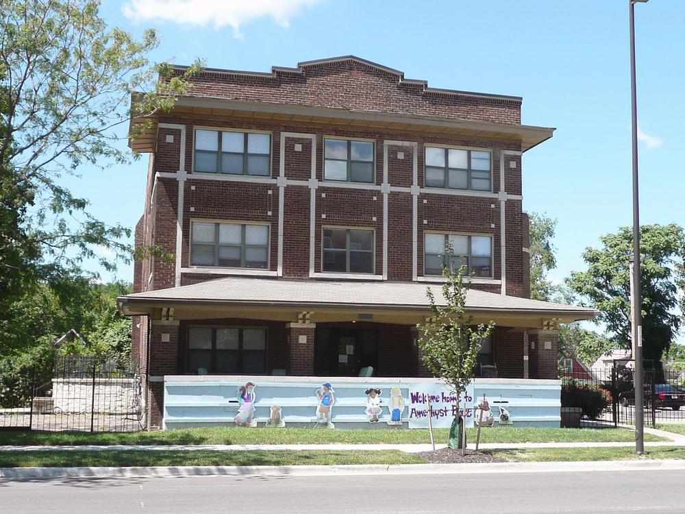 Nelle E Peters troost avenue historic district