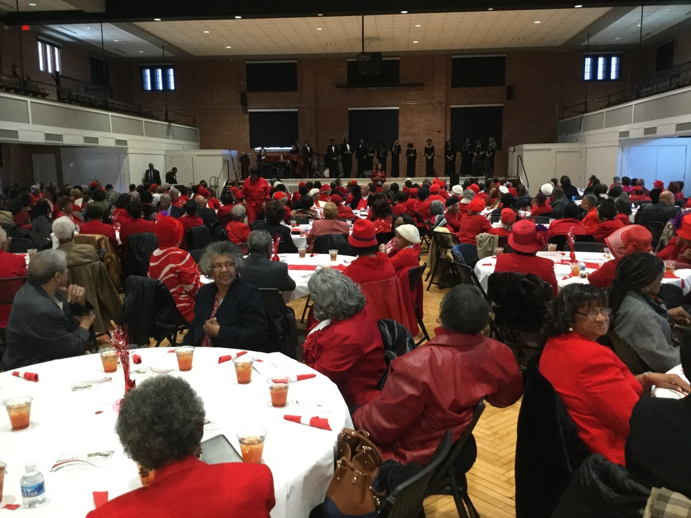 Seniors Annual Red and White Luncheon