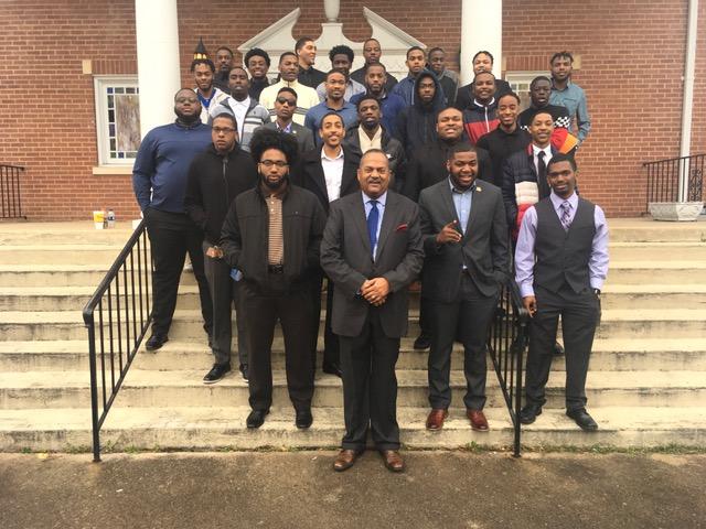 NCCU Collegiate 100 Black Men Worshipping at Antioch Baptist Church —  Antioch Baptist Church