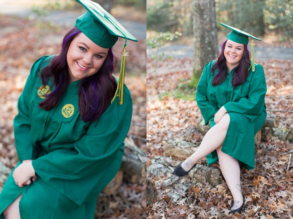 George Mason University- Megan Sunrise Cap & Gown-Natalie Jayne Moore