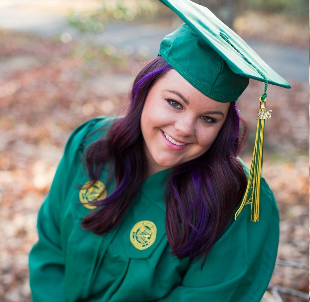 George Mason University- Megan Sunrise Cap & Gown-Natalie Jayne Moore