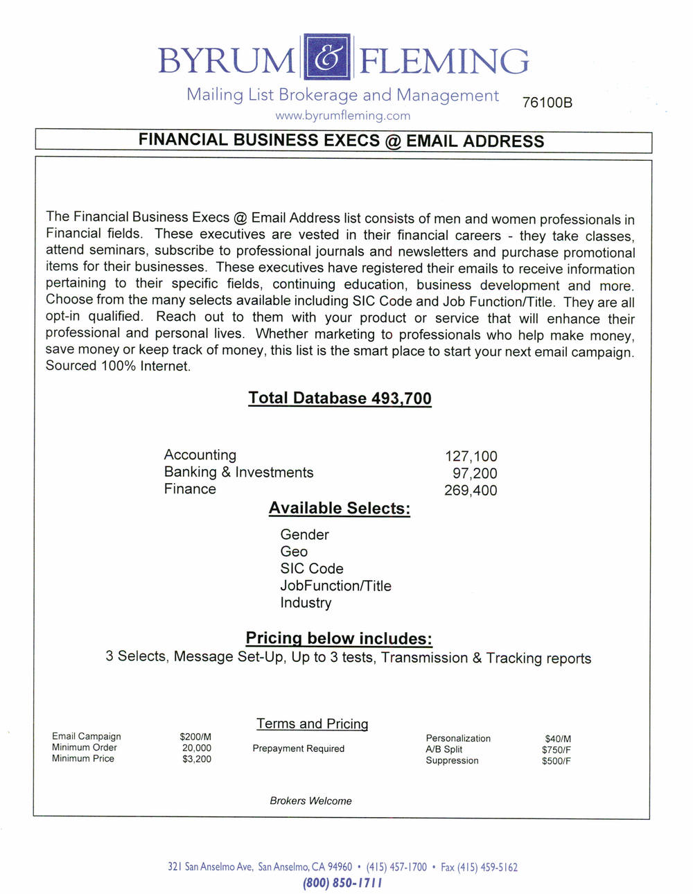 Accounting Banking & Investments Finance