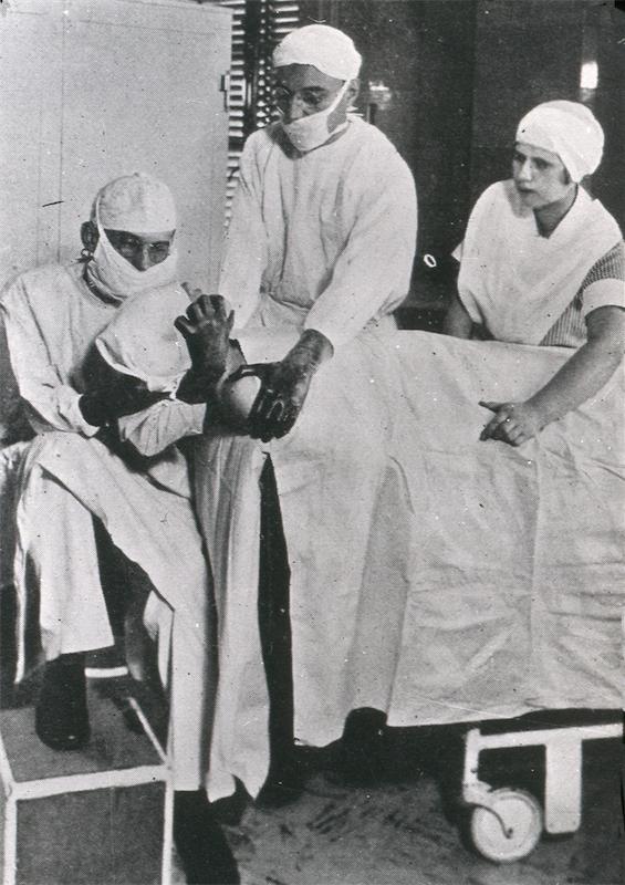 Dr. Aversa, Sr., Holding for Dr. L. Clerf