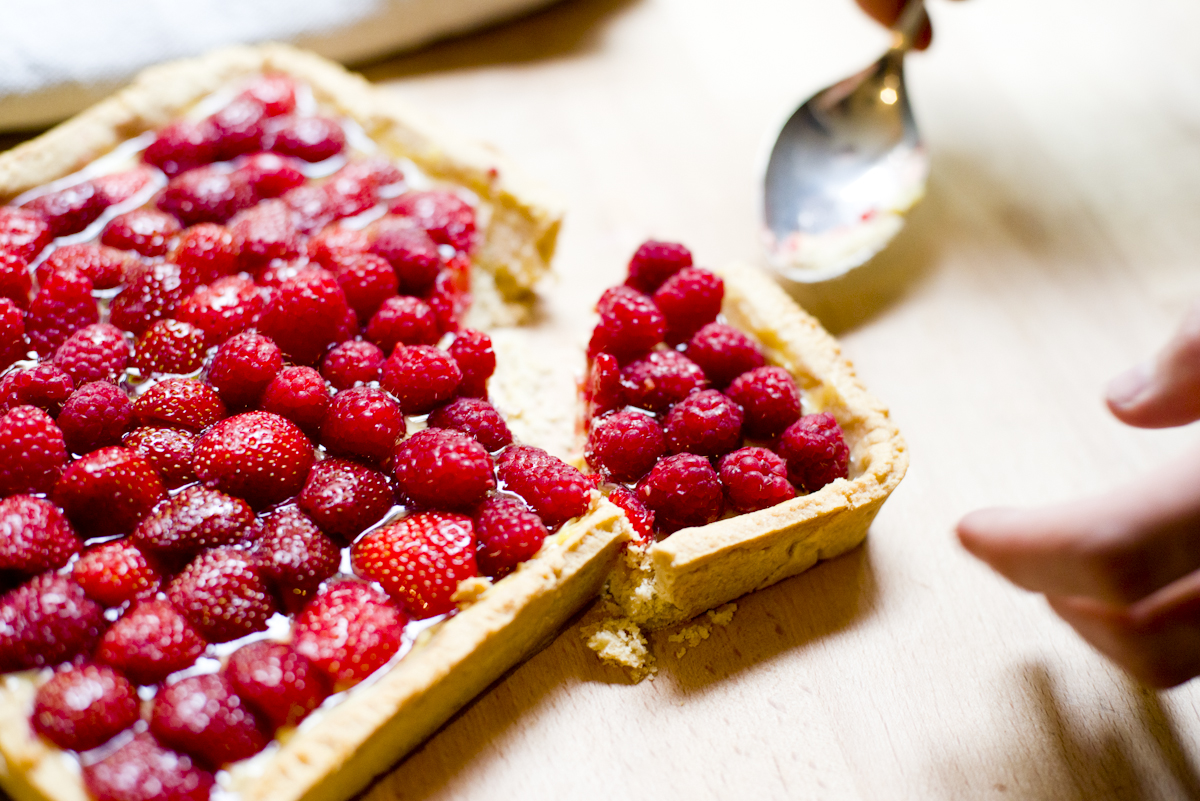 raspberry tart (1 of 1)