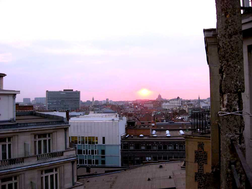 Brysseli ja kattoterassihetket