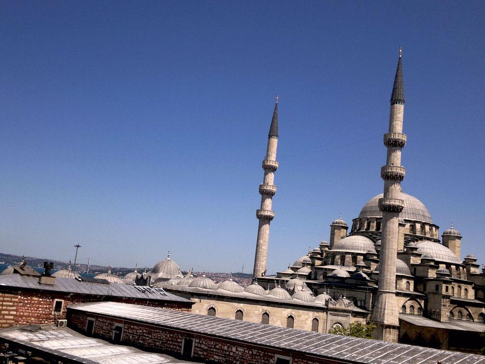 Istanbul. Vähän vinossa.