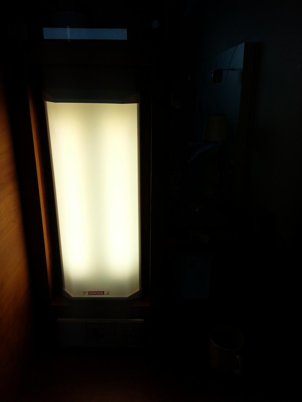 Kirkasvalolamppu ei ole yhtään hassumpi juttu Suomen hotelleihin