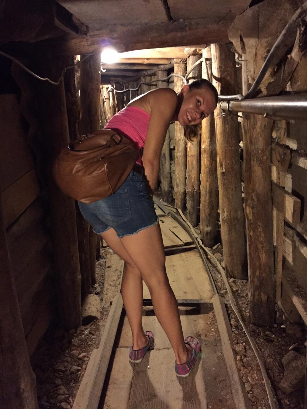 Tunnelivierailu Sarajevossa