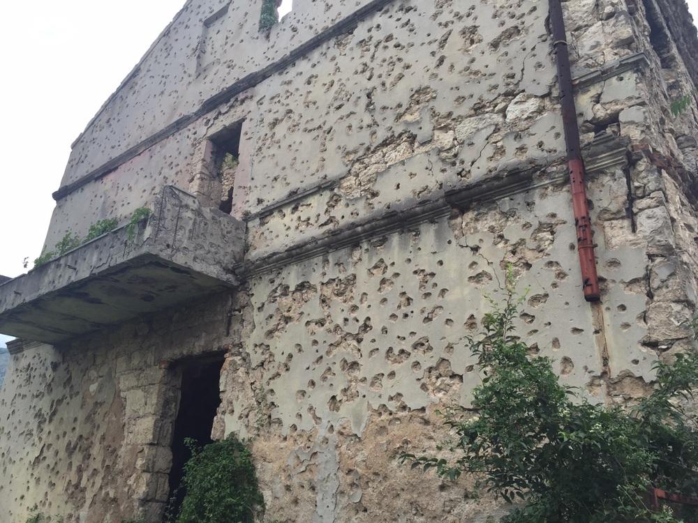 Talo, joka koki sodan