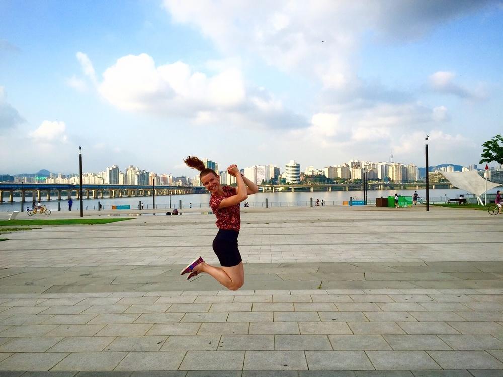 Hyppyharjoituksia Soulissa
