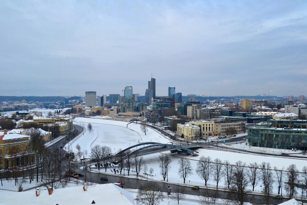 Nerijoki halkoo kaupungin uuteen ja vanhaan puoleen