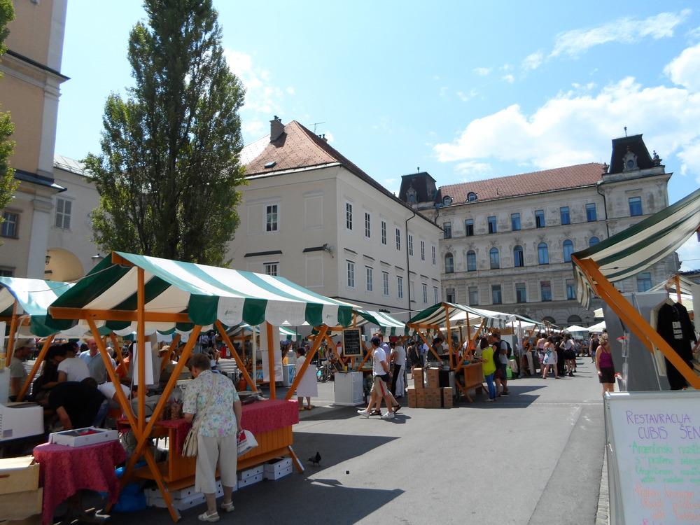Ljubljan markkinat