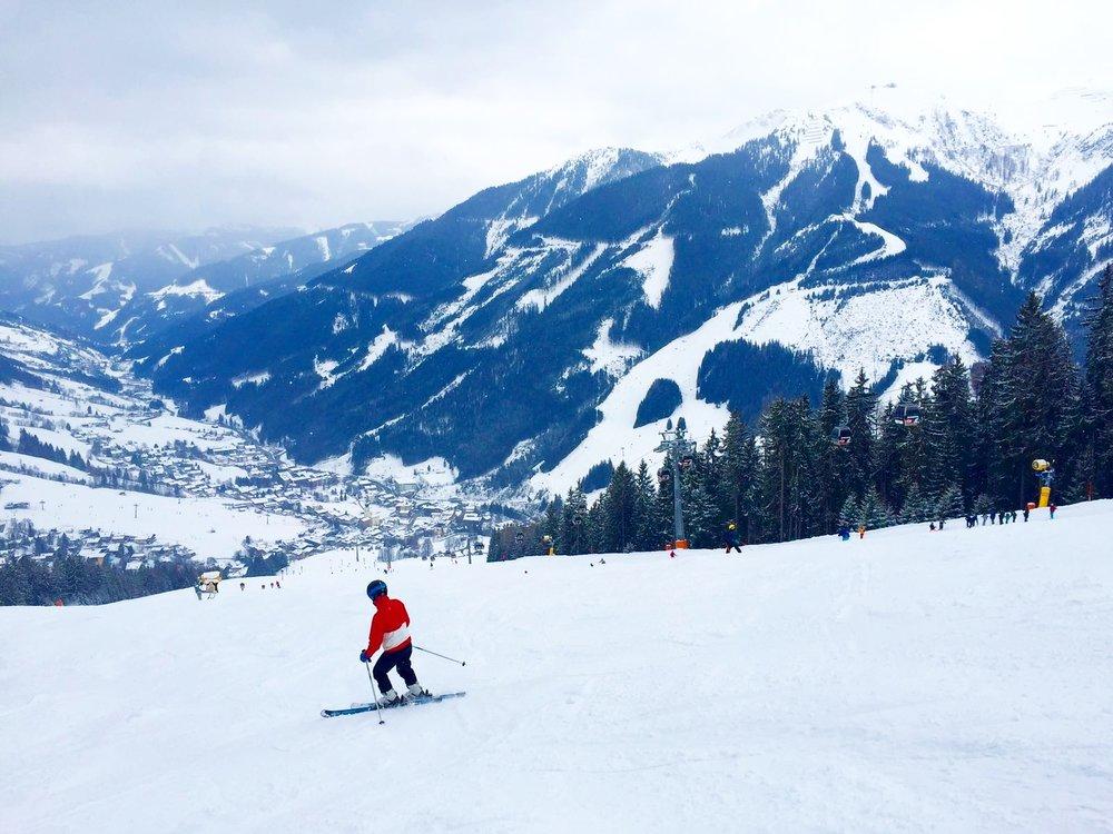 Kevään ykkösreissu oli skimbaloma Alpeilla