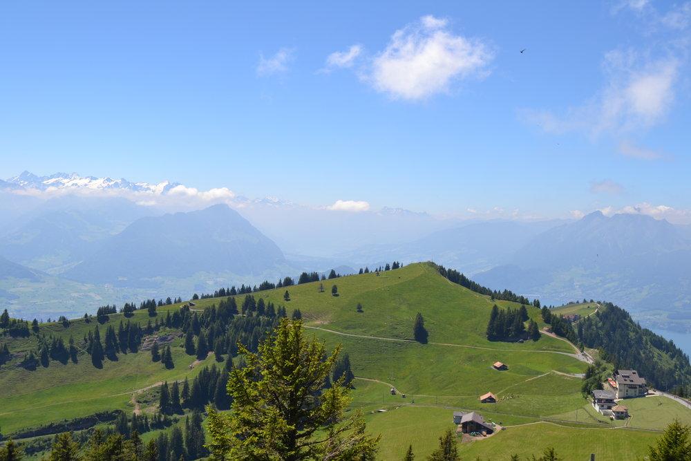 Mt.Rigin vihreitä maisemia