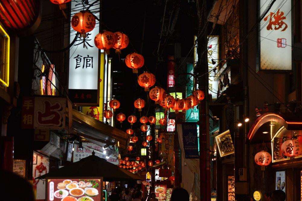 Iltavalaistus Kiotossa