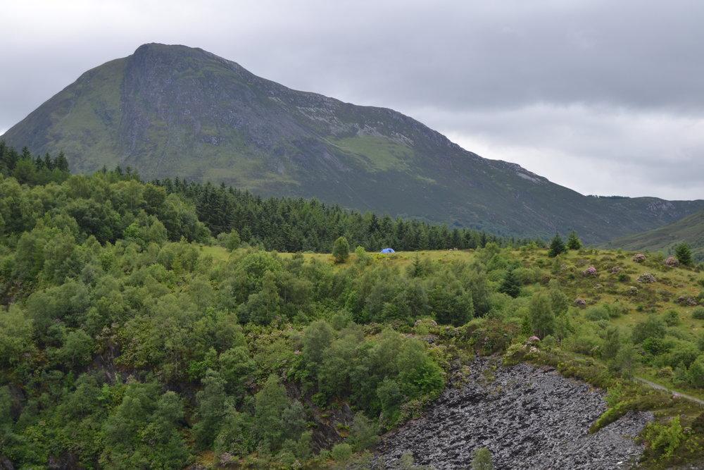 Vihreitä maisemia Skotlannissa