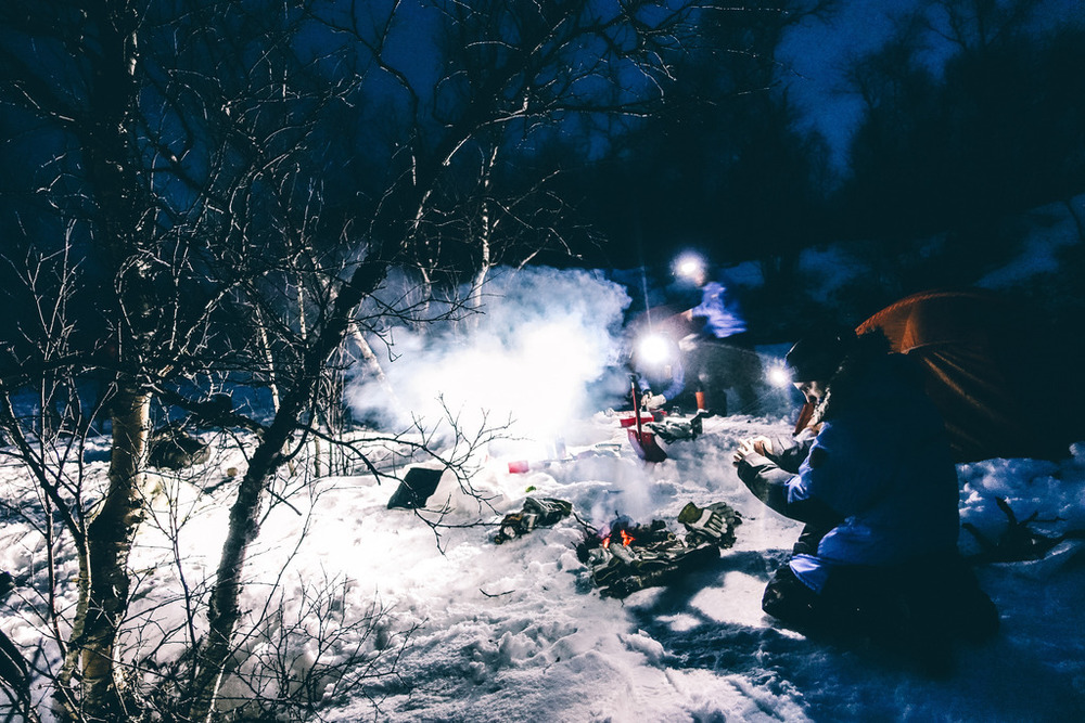 fjallraven polar expedtion 2016 camp fire