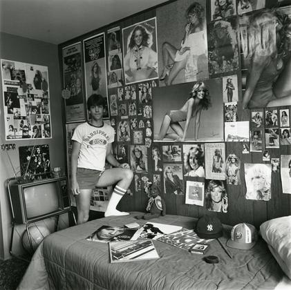David in his Room, 1981.