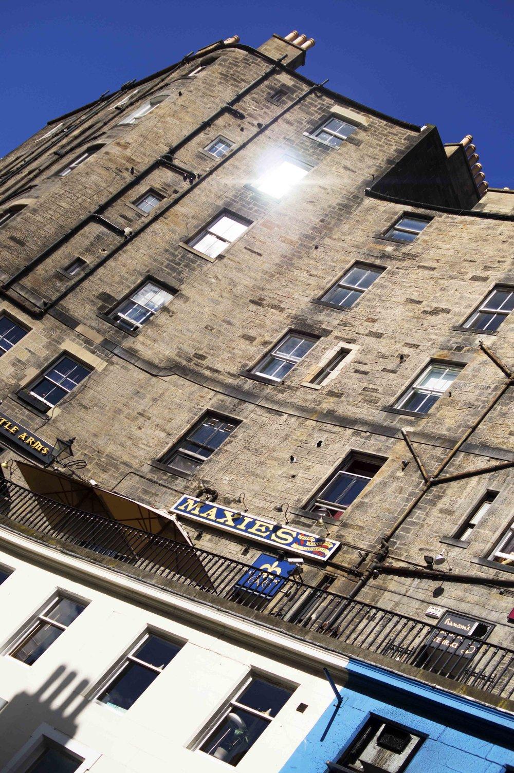 Maxies In The Sunshine, Edinburgh