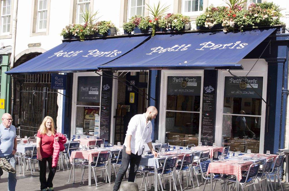 Petit Paris Cafe, Edinburgh