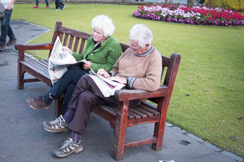 Sunday Morning Crossword In The Park, Edinburgh