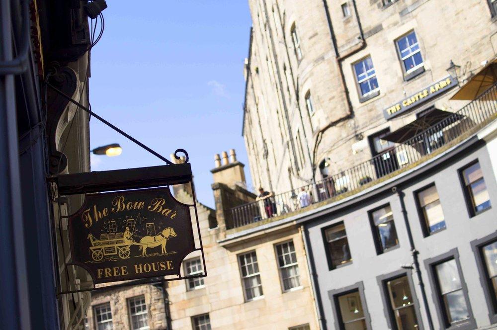 Pub Sign In Edinburgh