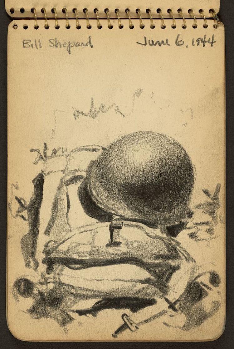 victor lundy sketch of bill shepherd