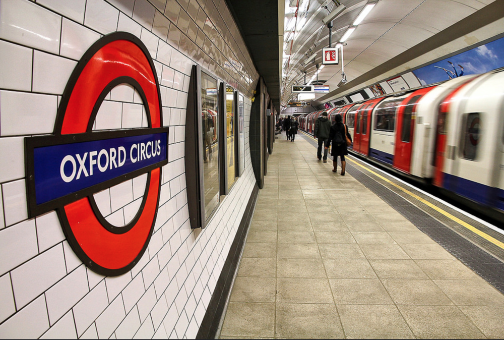 The iconic London Underground signage, recognisable all over the world. Image from Flickr.