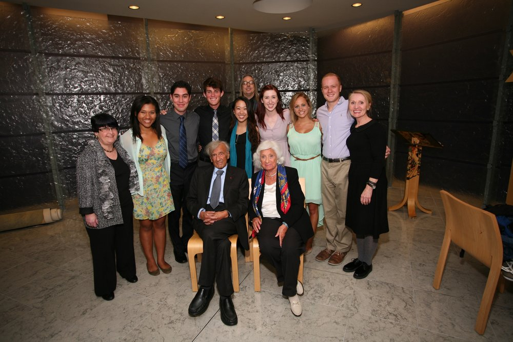 An Evening of Stories and Storytelling with Elie Wiesel, Chapman University (2014, Reader)