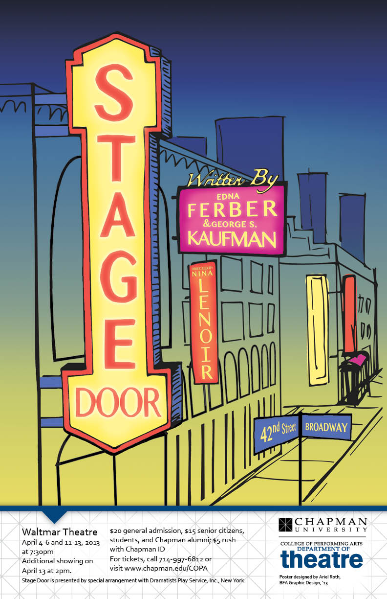 Poster for Stage Door