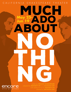 Much Ado About Nothing, California Shakespeare Theater (2016, Assistant Director)
