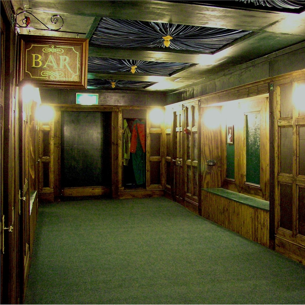Tropicana entrance hall and bar