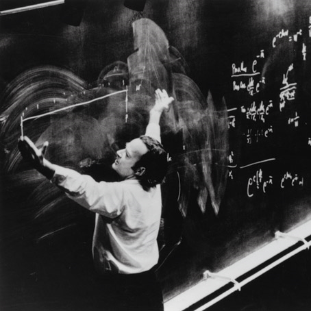 Feynman at work