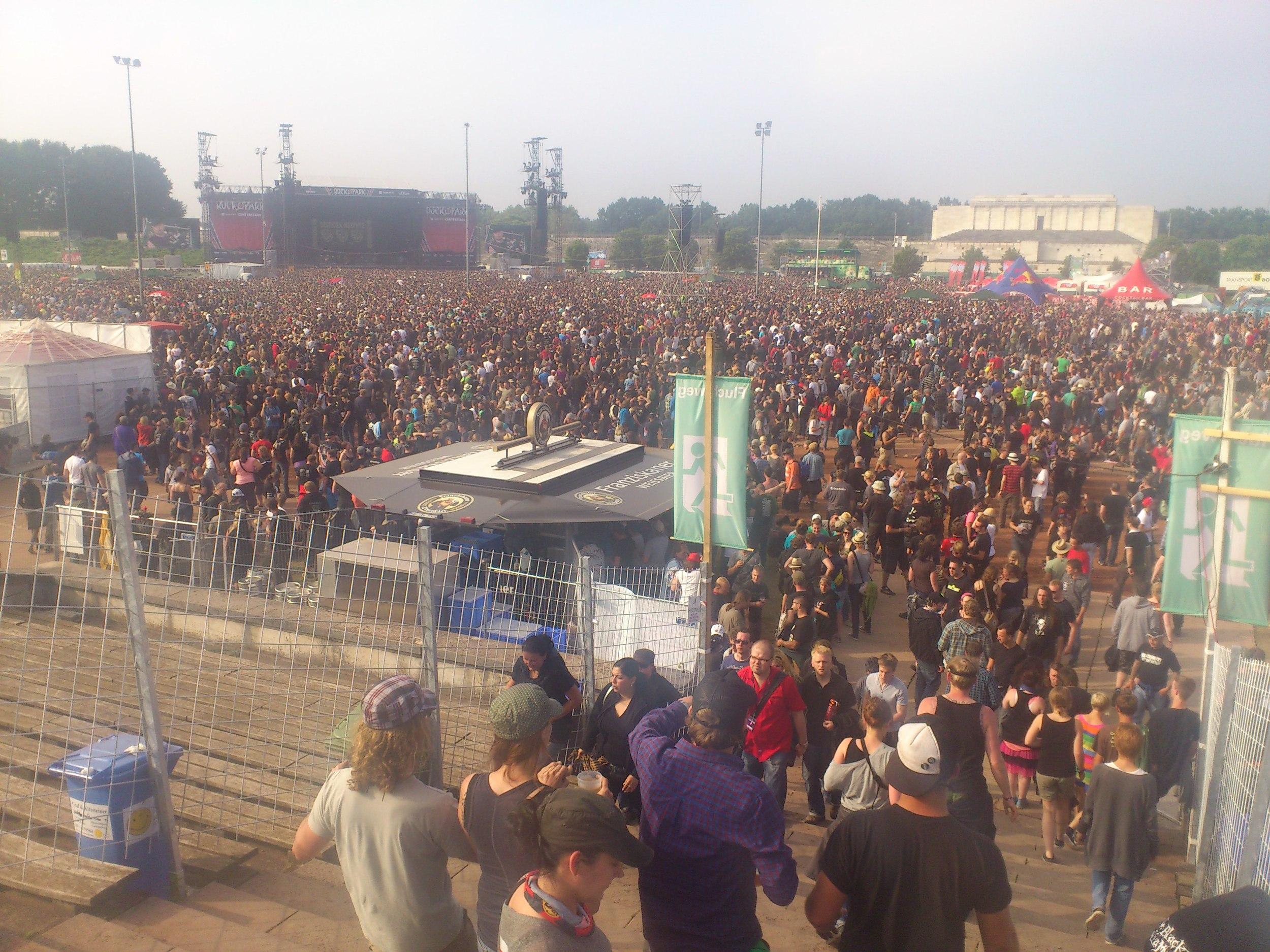 Doch bissl was los (Rock im Park 2012)