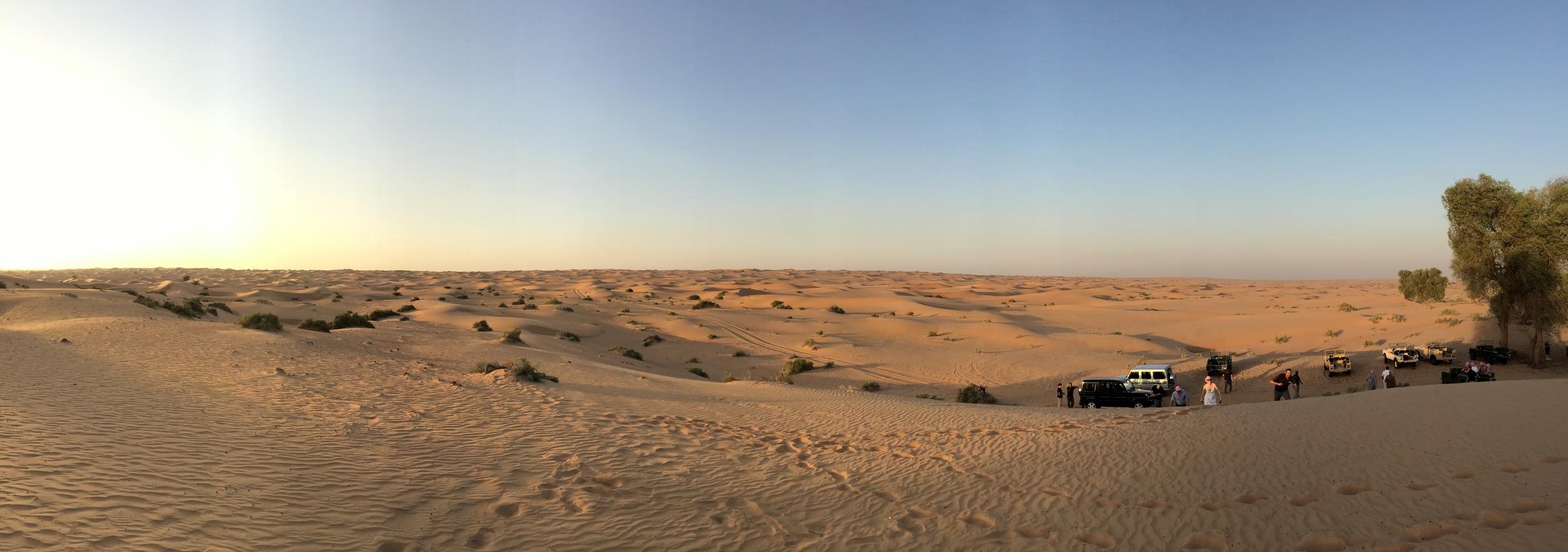 Wüsten-Pano