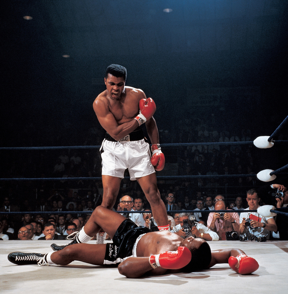 Ali x Liston por Neil Leifer